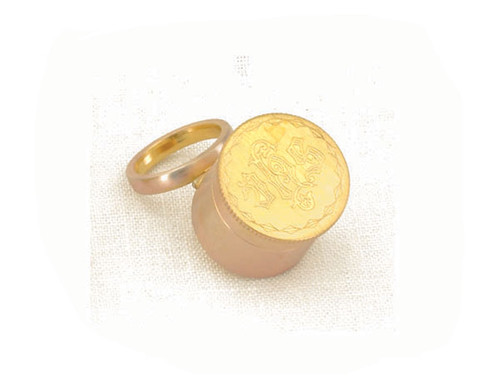 """1"""" IHS Engraved Oil Stock 