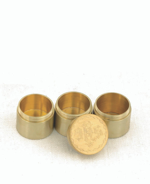 """2 1/4"""" IHS Engraved Triple Oil Stock 