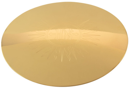 """5 1/2"""" IHS Engraved Scale Paten 