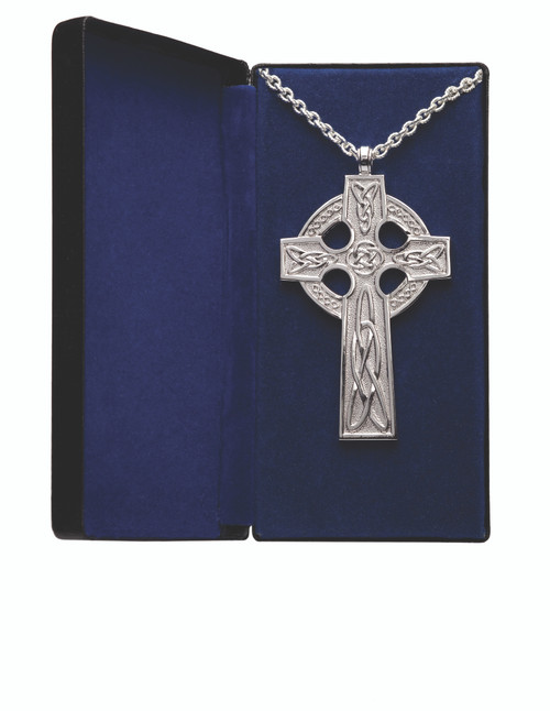 """4"""" Celtic Pectoral Cross 