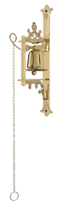 One Cup Wall Altar Bell | Brass