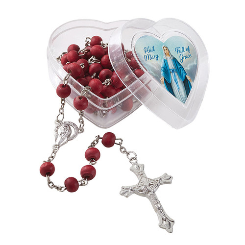 Our Lady of Grace Rose Scented Rosary