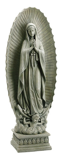 """37.5"""" Our Lady Of Guadalupe Garden Statue 