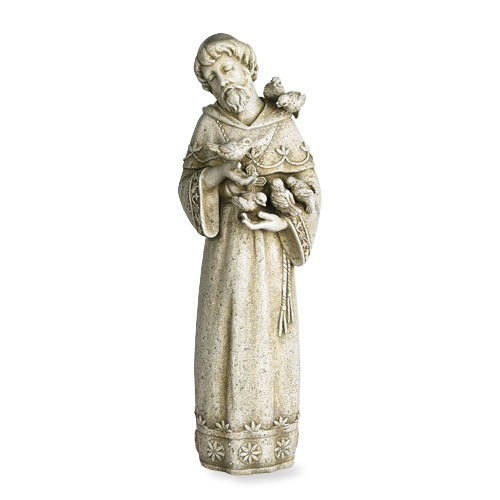 "23"" St. Francis Garden Statue | Resin"