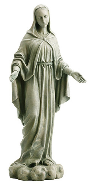 "24"" Our Lady of Grace Garden Statue 