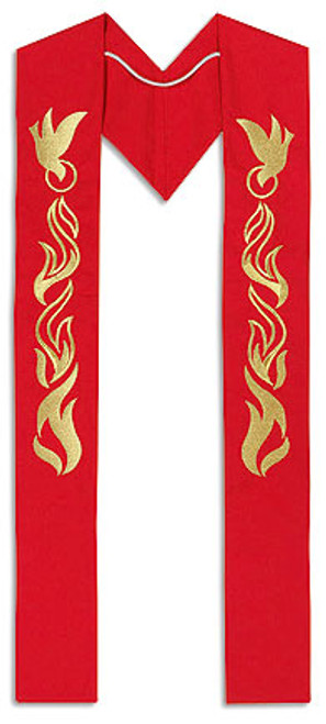 Confirmation/Pentecost Clergy Stole | Polyester