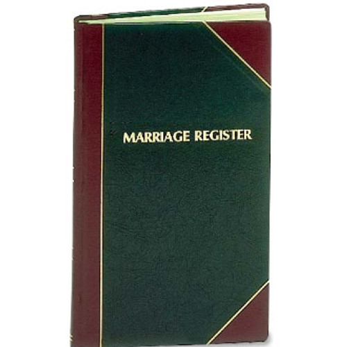 Marriage Register | Large