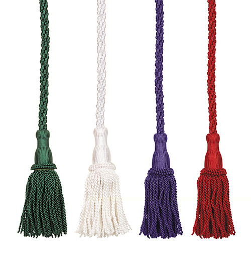 """Rayon Hermitage Tassel Cincture 