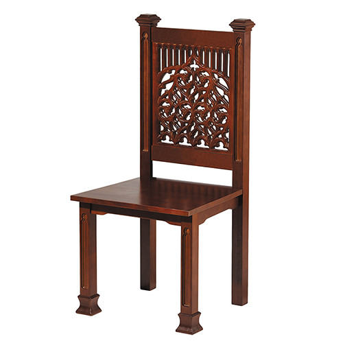Tree Of Life Side Chair | Walnut Stain