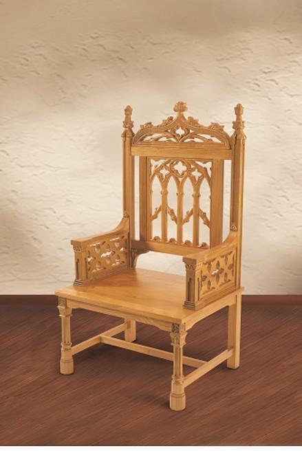 Canterbury Collection Celebrant Chair | Medium Oak Stain
