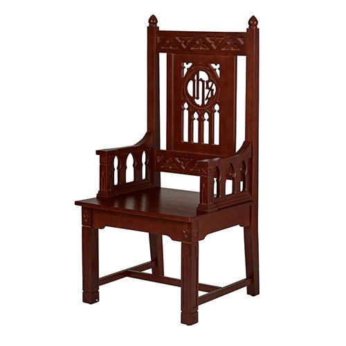 Florentine Collection Celebrant Chair | Walnut Stain