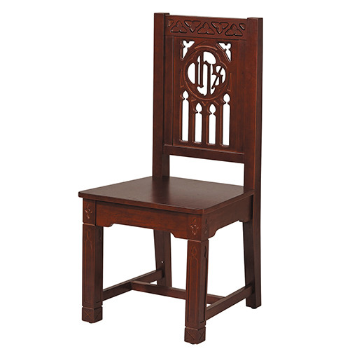 Florentine Collection Side Chair | Walnut Stain