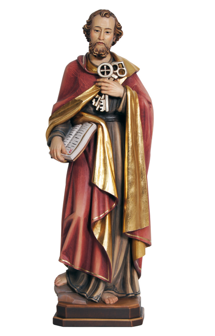 """8"""" St. Peter Statue 