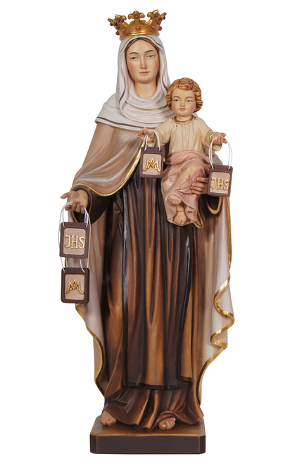 """8"""" Our Lady of Mount Carmel Statue 