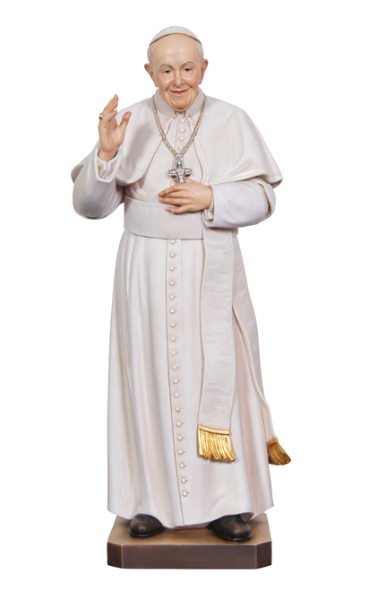 "12"" Pope Francis Statue 