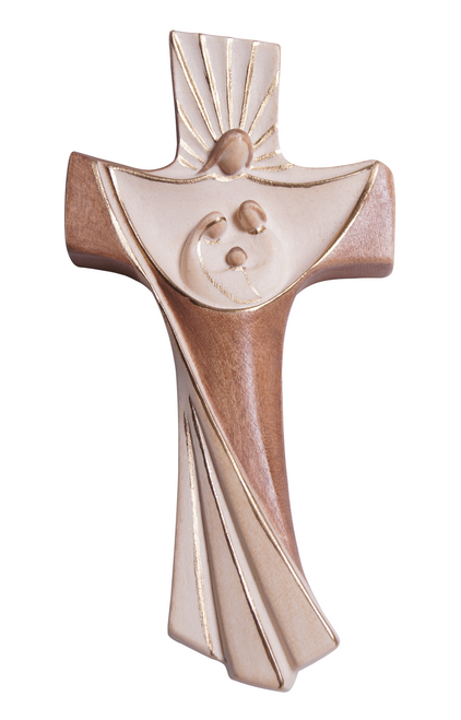 "10"" Family Cross Light Stained 