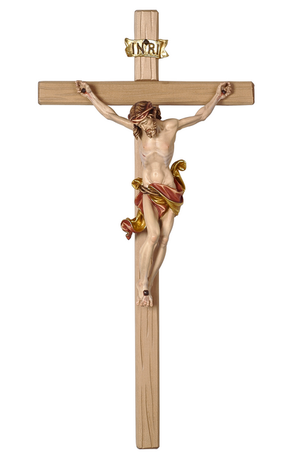 "18.5"" Leonardo Crucifix Red Colored 