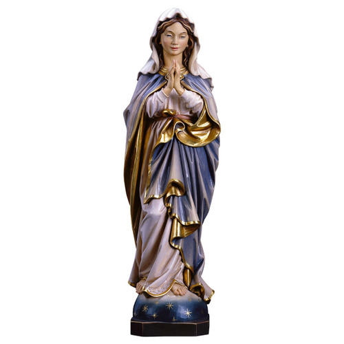 Immaculate Conception Statue | Hand Carved In Italy | Multiple Sizes