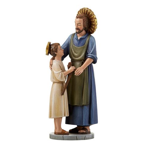 "8"" Hummel Figure | St. Joseph The Worker | Polyresin"