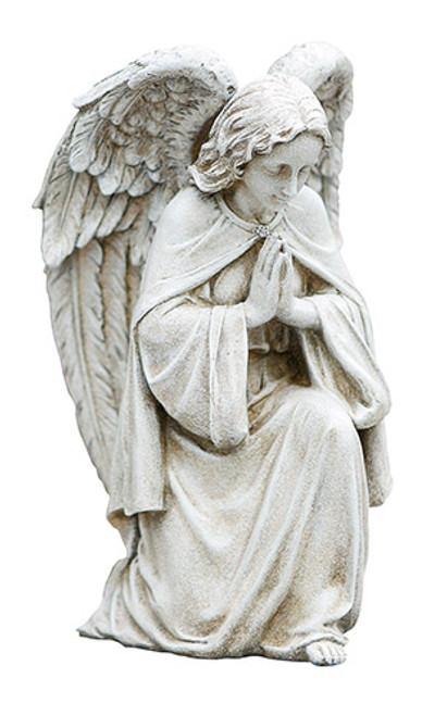 "12"" Praying Angel Garden Statue   Resin/Stone"