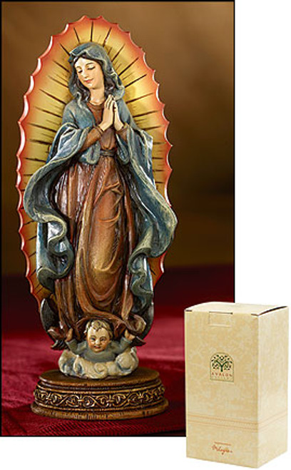 """6"""" Our Lady Of Guadalupe Statue 
