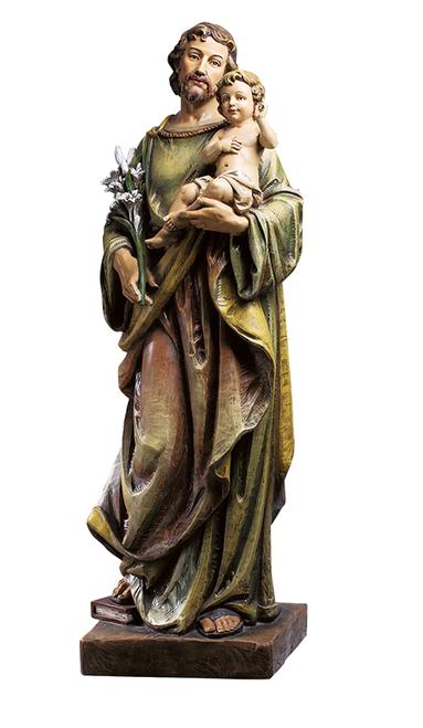 "48"" St Joseph with Child Statue | Resin"