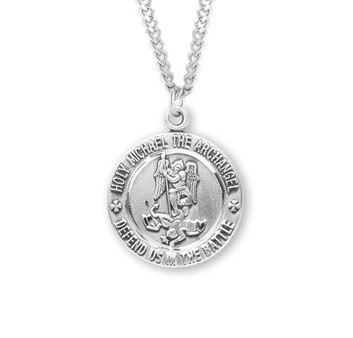 Saint Michael Sterling Silver EMT Medal