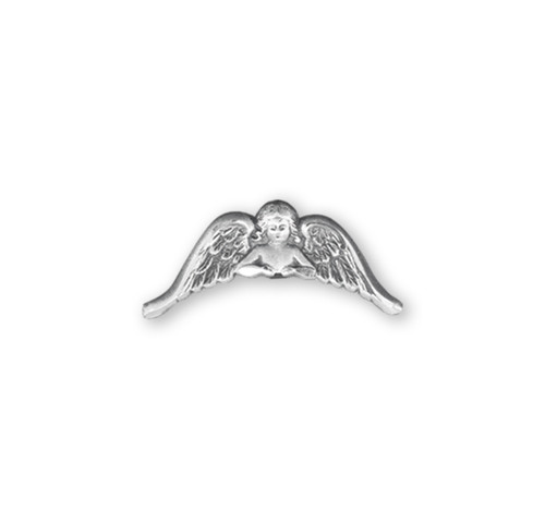 Sterling Silver Angel with Wings Lapel Pin