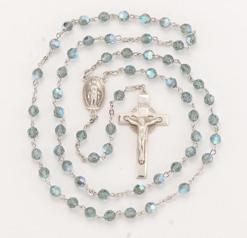 Erinite Swarovski Crystal Rosary