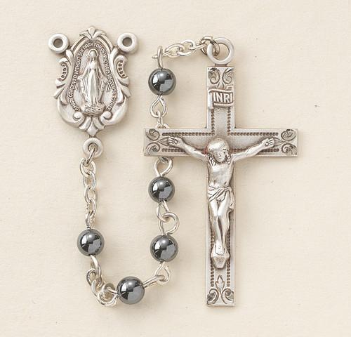 Genuine Hematite Rosary