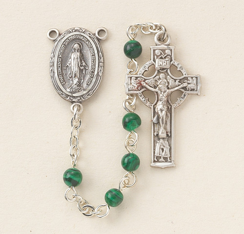 Genuine Malachite Rosary