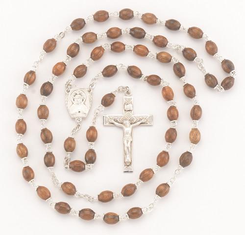 Polished Walnut Rosary