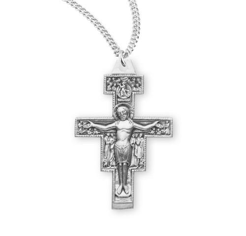 "San Damiano Crucifix   20"" Chain"