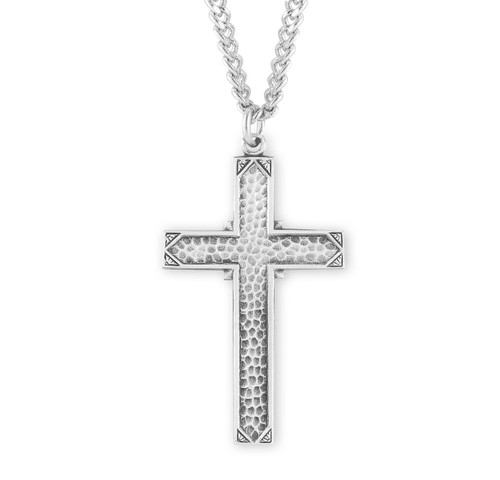 """Sterling Silver Cross 