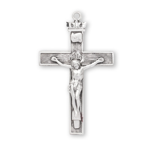 """Sterling Silver Crucifix 