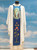 #359 Praying Mary Paneled Chasuble | Square Collar | 100% Poly