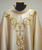 #1097 Banded Celebrants Chasuble | Stand Up Collar | Fine Pure Wool