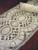 #0903 Lightweight Ivory Lace Insert Alb   Shoulder Zipper   Mixed Wool