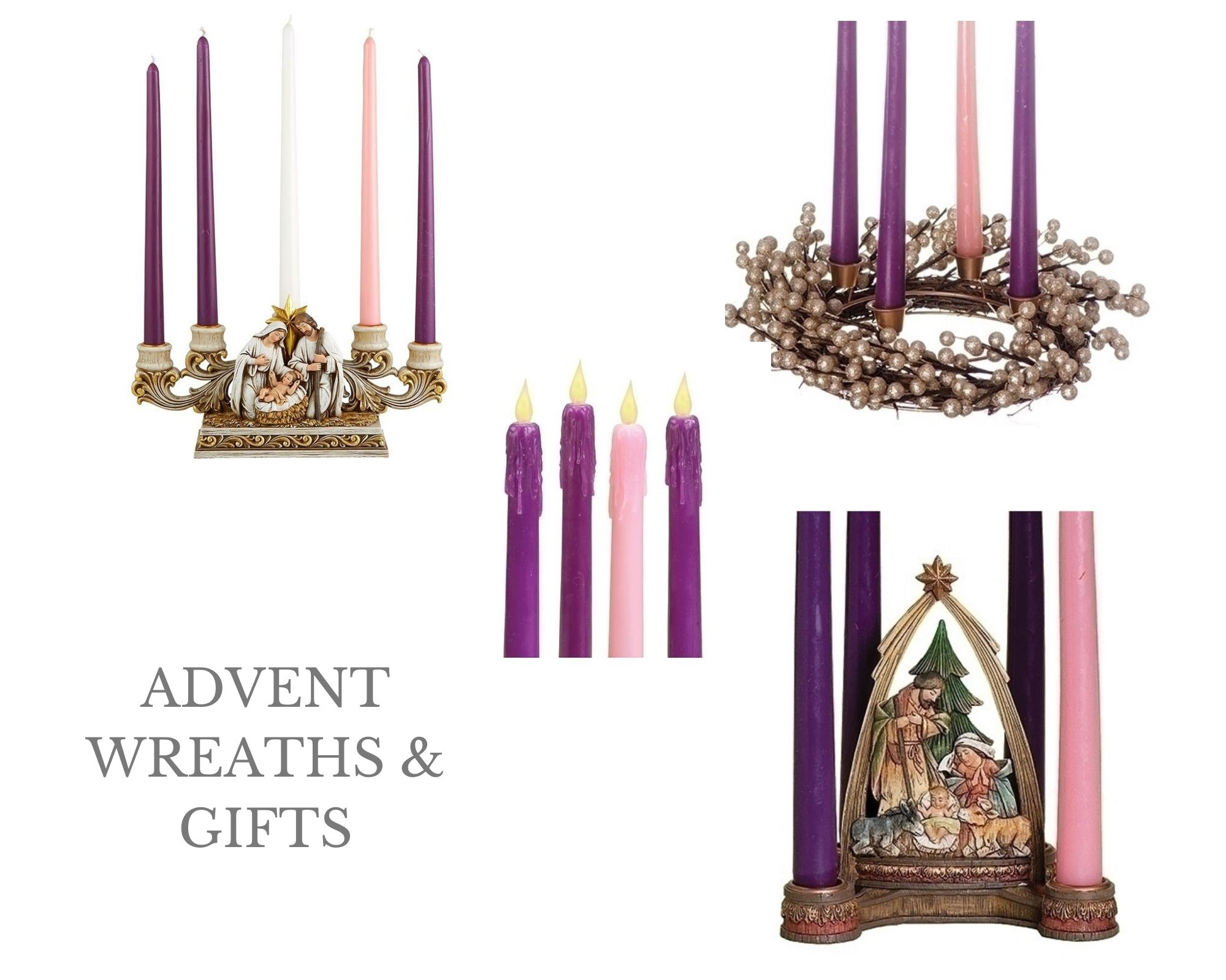advent wreaths, advent gifts