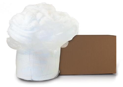 White Polyester Fiberfill stuffing material 15 Denier