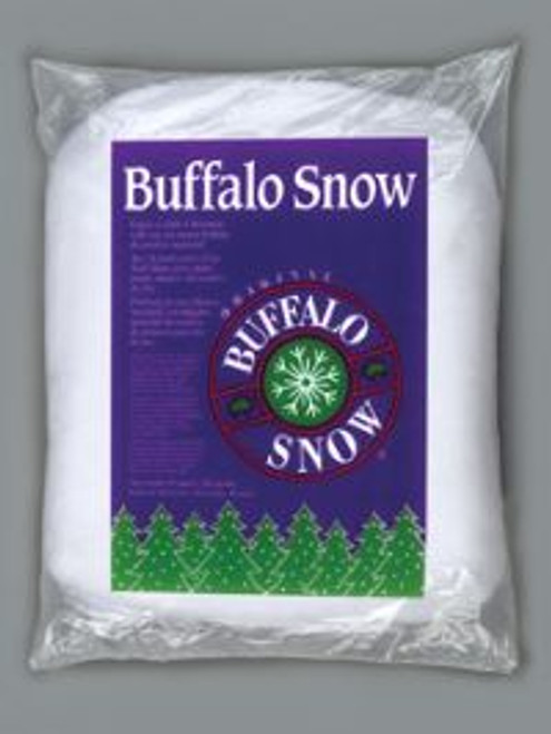Buffalo Snow  loose white polyester fibers