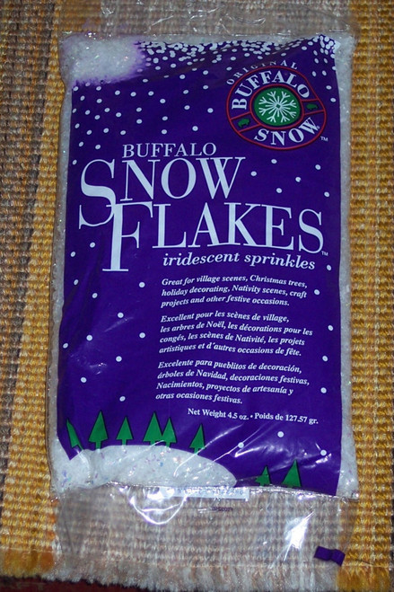 Buffalo Snow Iridescent Flakes