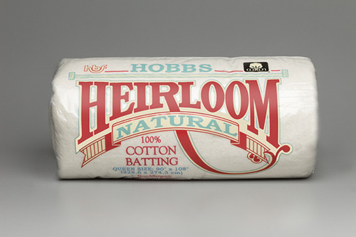 Hobbs 100% Natural Cotton Quilt Batting