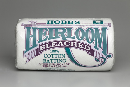 Hobbs Heirloom premium Bleached Cotton Quilt batting Size