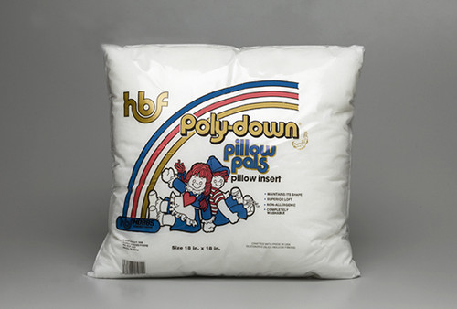 Hobbs Poly-Down Pillow Pals Pillow Inserts  with polyester cover