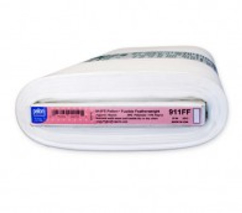 Pellon 911FF Fusible Featherweight Interfacing White Bolt