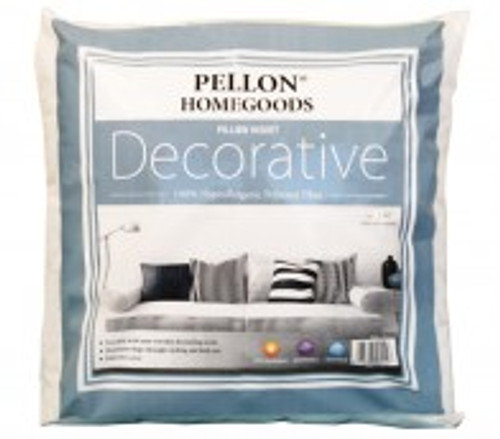 "Decorative Pillow Insert 18"" x 18"" twin pack"