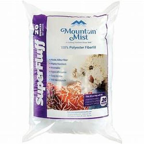 Mountain Mist Super Fluff Polyester Fiberfill Stuffing 20 oz. bag