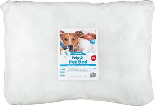 "Poly-Fil Basic Pet Bed Insert 24'' x 36'' x 4"""