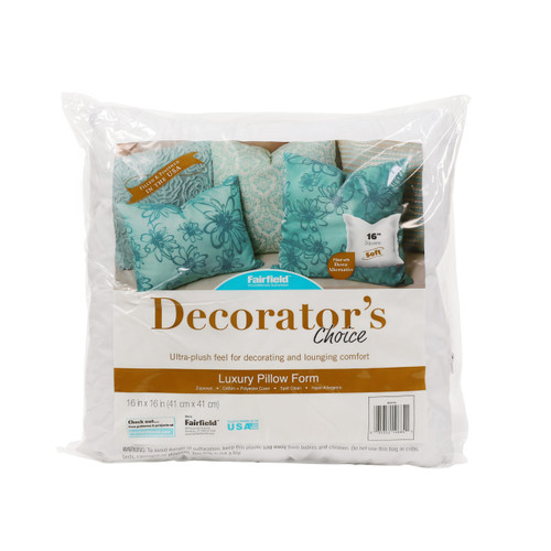 Decorator's Choice Pillow in packaging